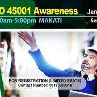 FREE SEMINAR ON ISO 45001 AWARENESS