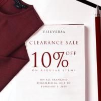 VISEVERSA'S CLEARANCE SALE