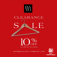 BAYO CLEARANCE SALE