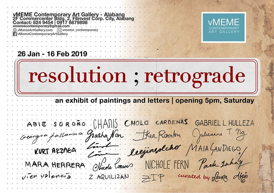 RESOLUTION ; RETROGRADE ART EXHIBIT
