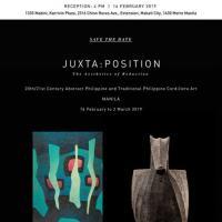 JUXTA:POSITION: THE AESTHETICS OF REDUCTION