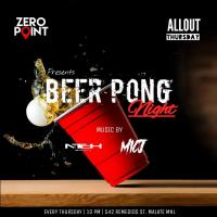 BEER PONG NIGHT AT ZERO POINT MANILA
