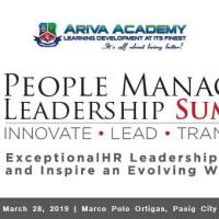 PEOPLE MANAGERS LEADERSHIP SUMMIT 2019""