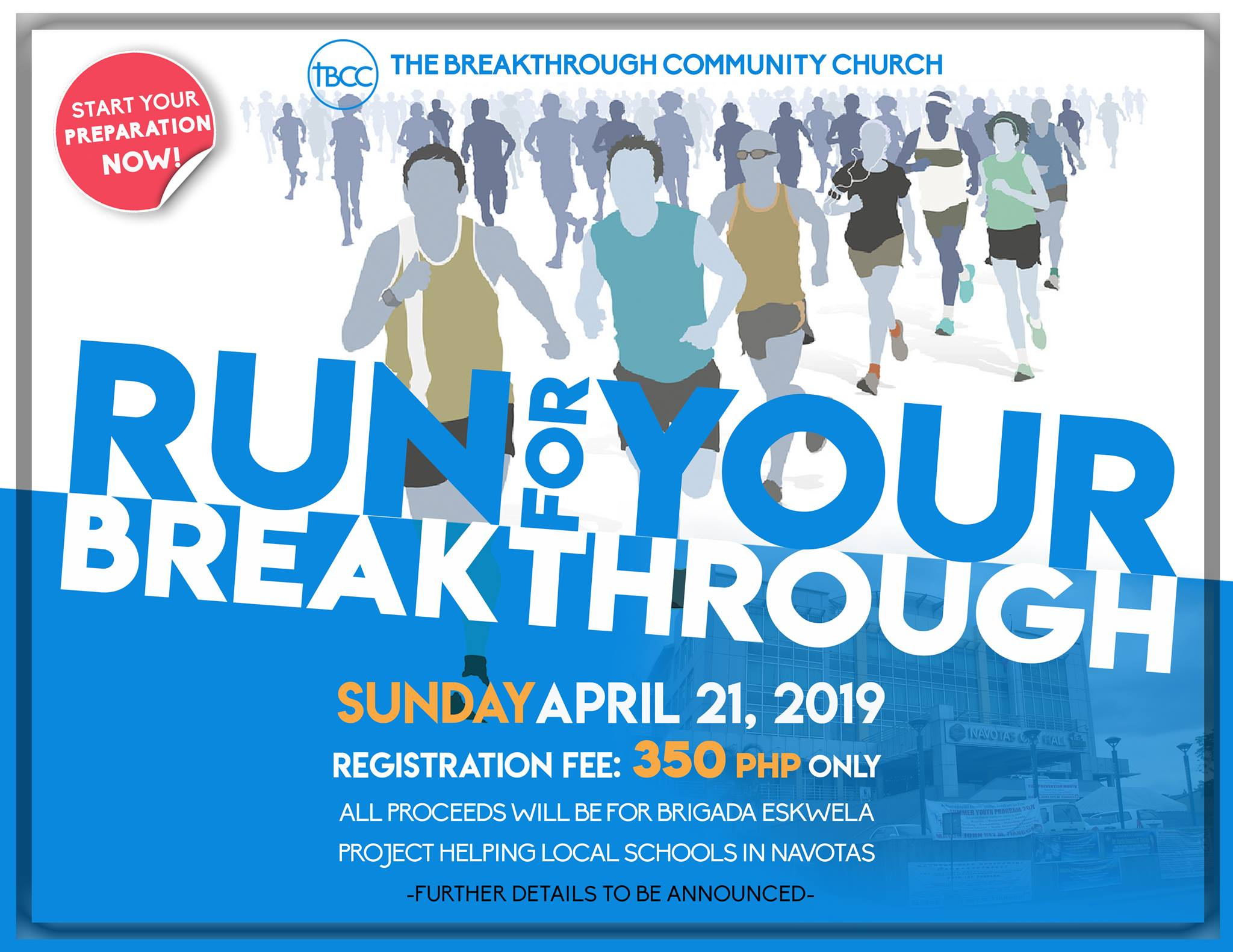 RUN FOR YOUR BREAKTHROUGH