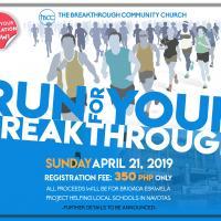 RUN FOR YOUR BREAKTHROUGH