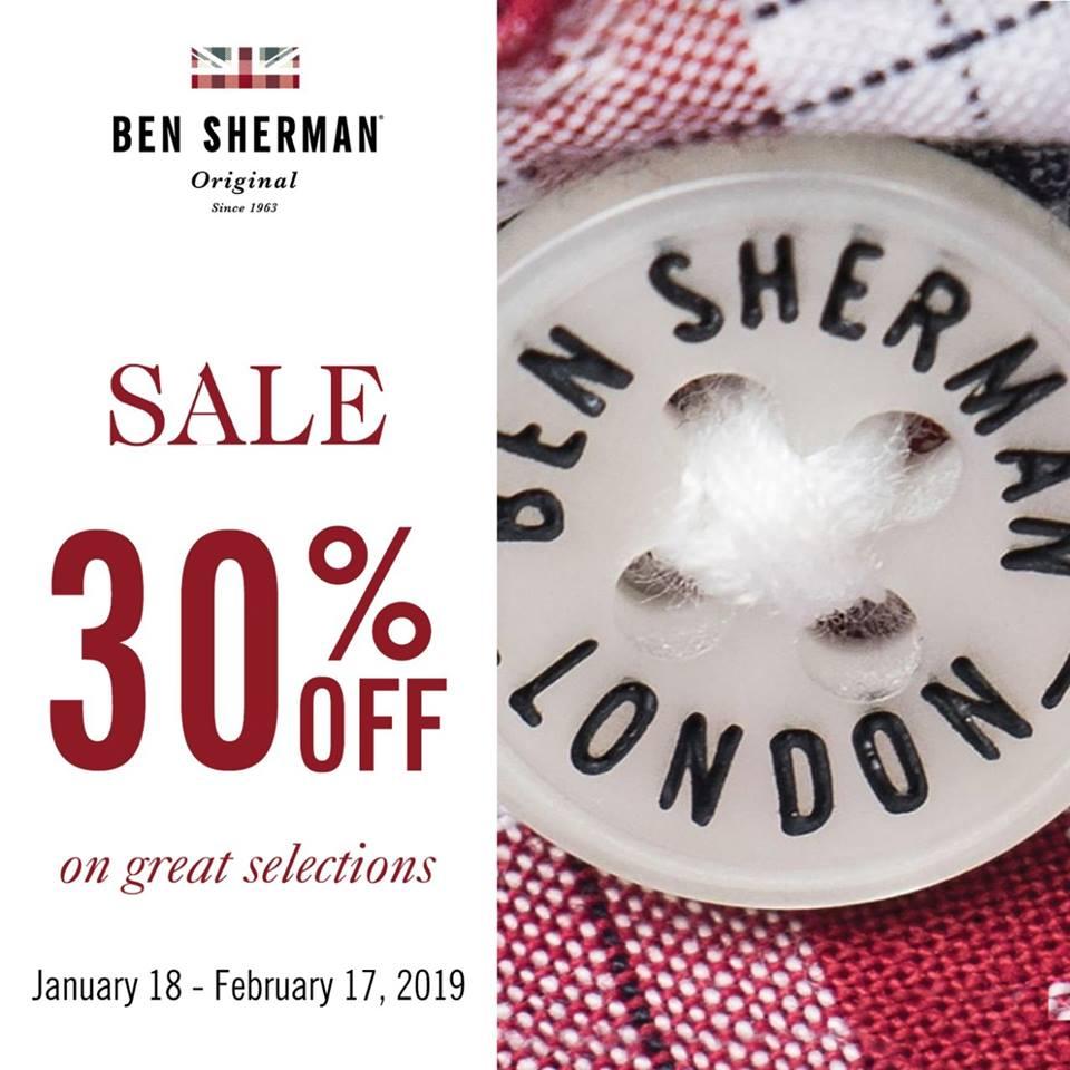 BEN SHERMAN SALE