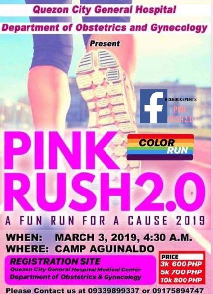 PINK RUSH 2.0 COLOR FUN RUN