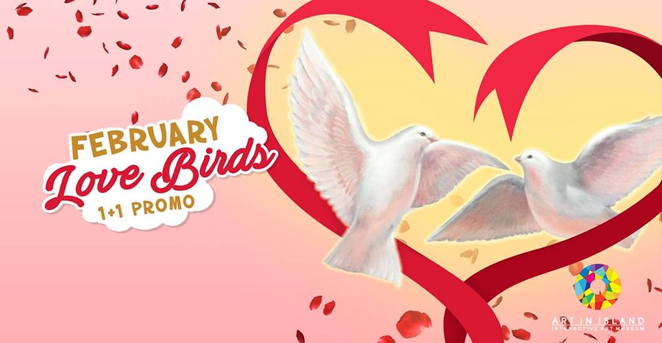 FEBRUARY LOVE BIRDS (1+1 PROMO)