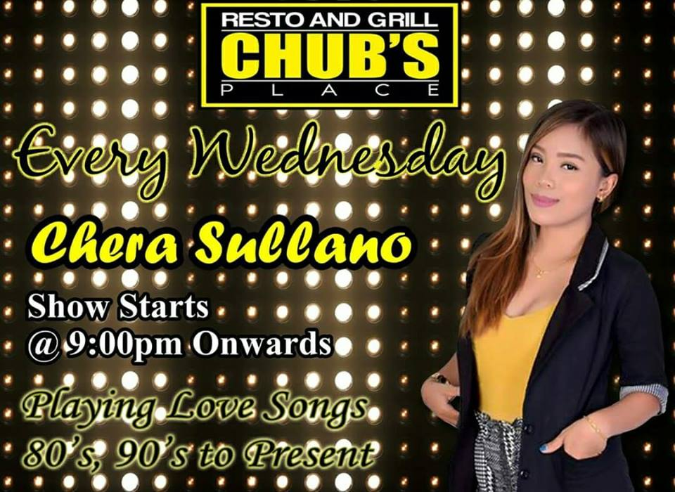 CHERA SULLANO AT CHUBS PLACE