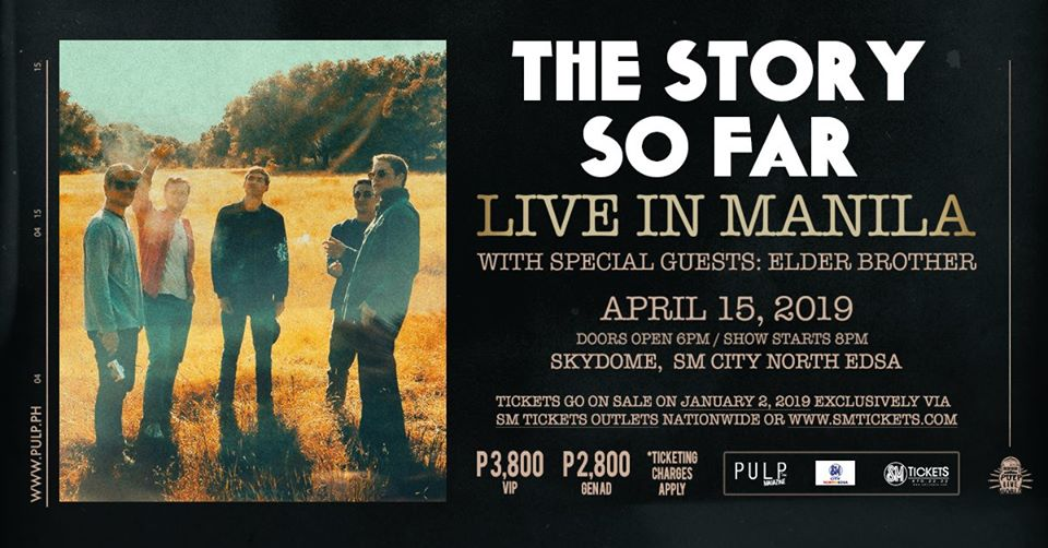 THE STORY SO FAR LIVE AT THE SKYDOME