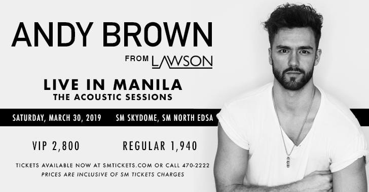 ANDY BROWN LIVE IN MANILA 2019