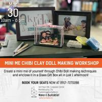 MINI ME CHIBI DOLL MAKING WORKSHOP
