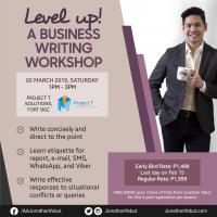 LEVEL UP! A BUSINESS WRITING WORKSHOP