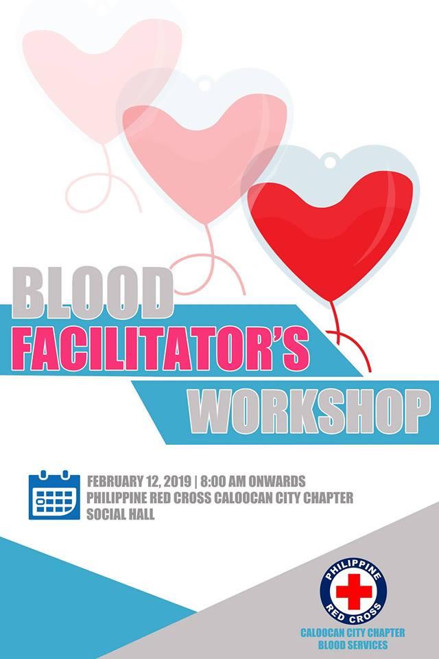 BLOOD FACILITATOR'S WORKSHOP