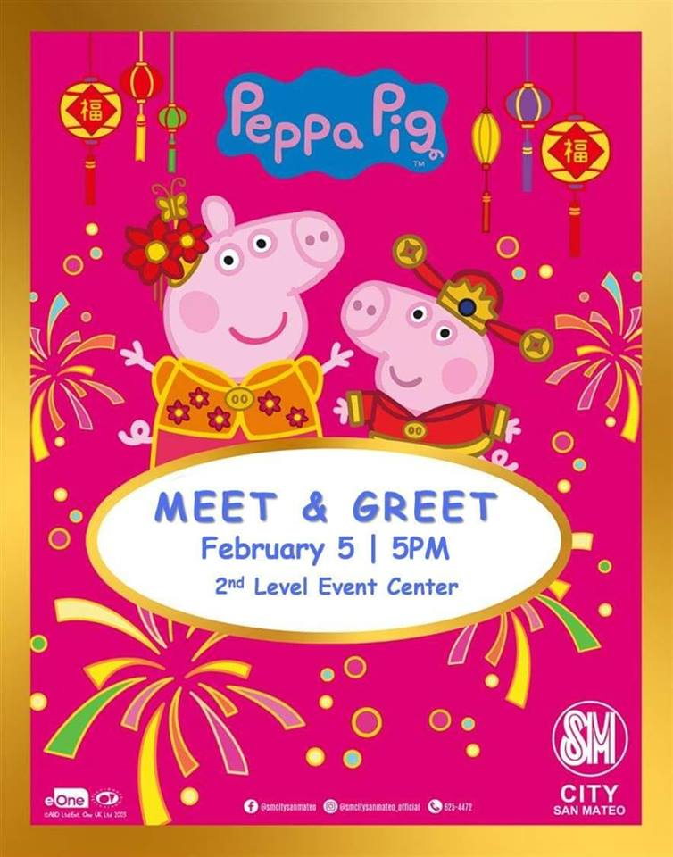 MEET AND GREET: PEPPA PIG AND GEORGE