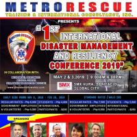 1ST INTERNATIONAL DISASTER MANAGEMENT & RESILIENCY CONFERENCE