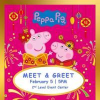 MEET AND GREET: PEPPA PIG AND GEORGE