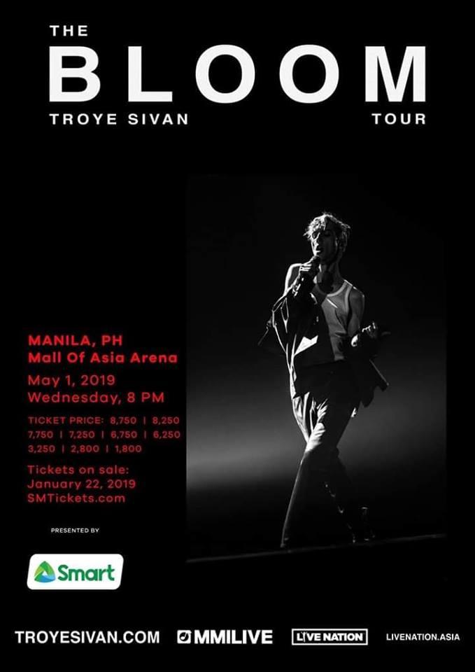 TROYE SIVAN LIVE IN MANILA