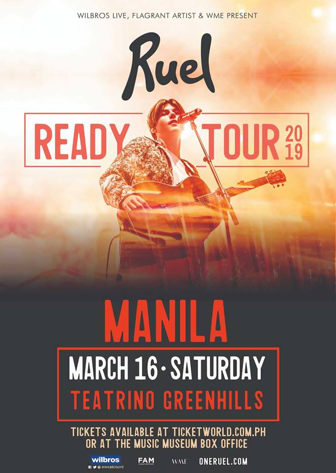 READY TOUR: RUEL LIVE IN MANILA