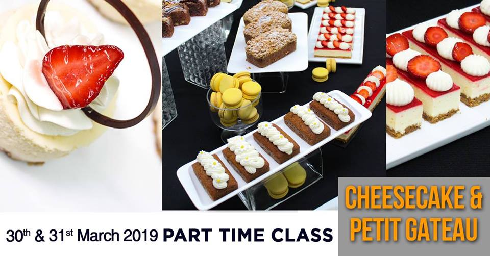 CHEESECAKE - 2 DAYS PART TIME CLASS