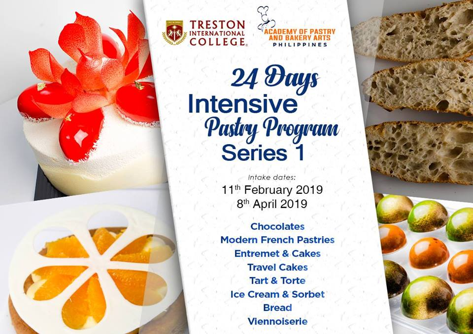 24 DAYS INTENSIVE PASTRY