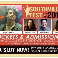 JUAN KARLOS, ANGELINA CRUZ LIVE AT THE SOUTHVILLE MUSIC FEST