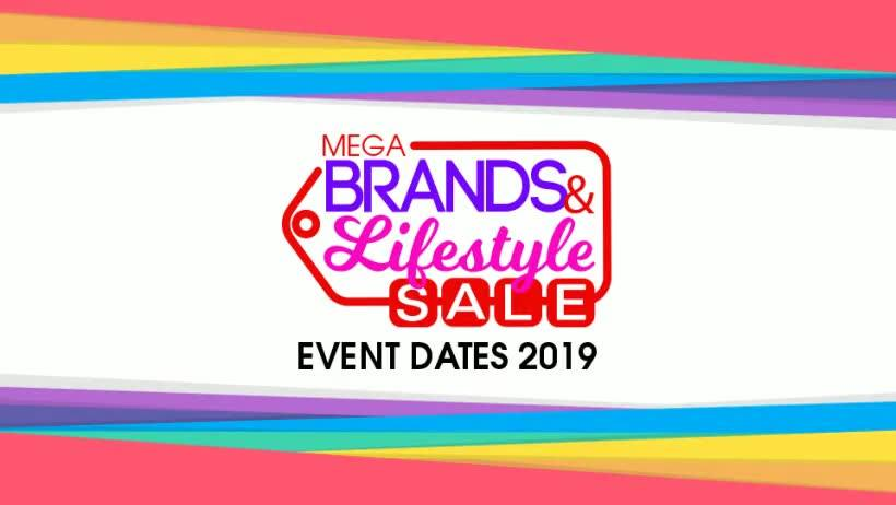 MEGABRANDS & LIFESTYLE SALE 2019