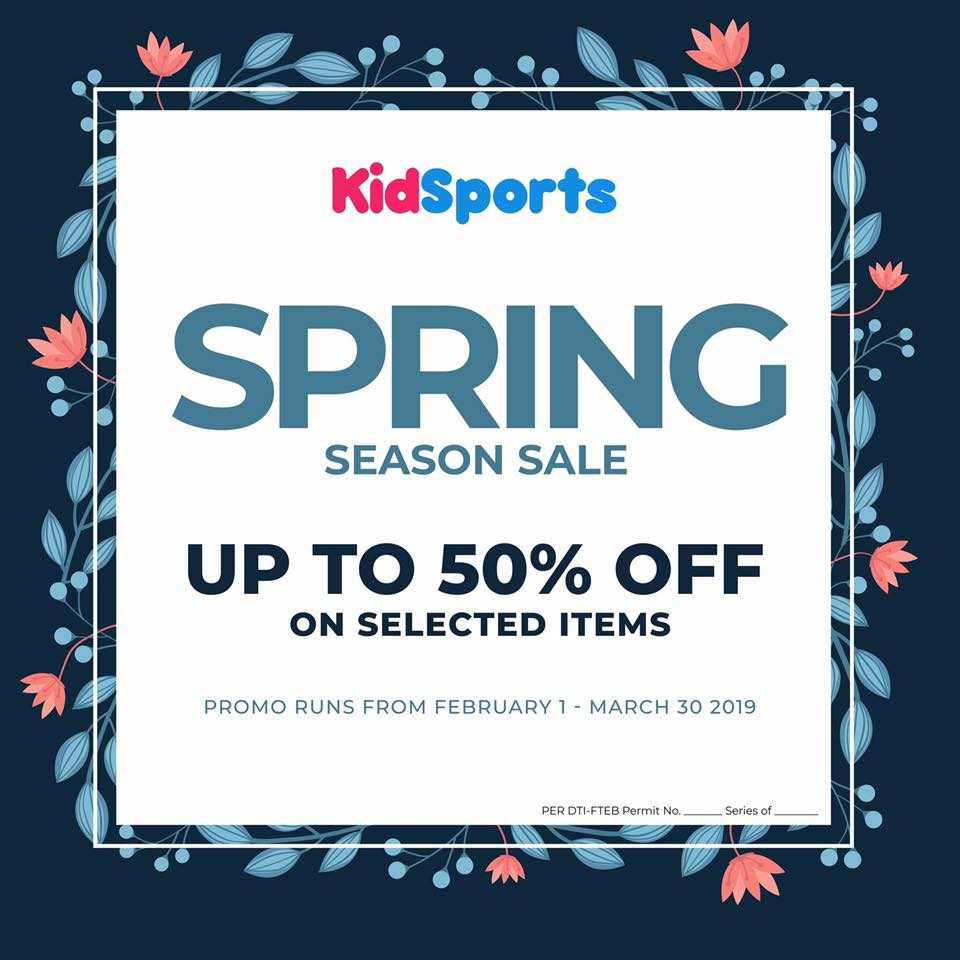 KIDSPORT SPRING SEASON SALE