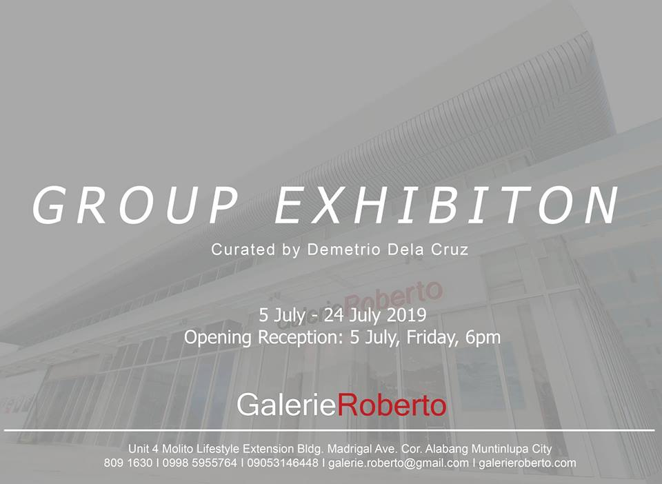 GROUP EXHIBITION | CURATED BY DEMETRIO DELA CRUZ