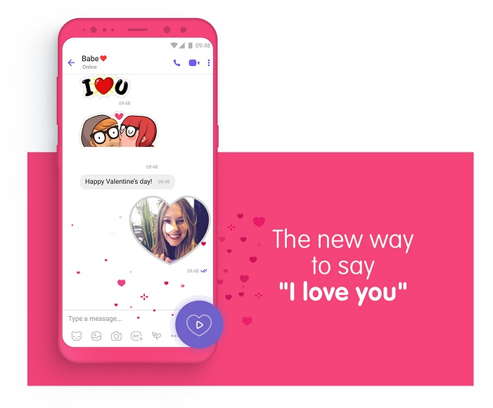 """The New Way to Say """"I Love You"""" this Valentine's Day with"""