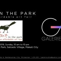 ART IN THE PARK 2019 (GALERIE ANNA)