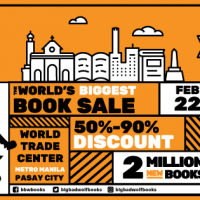 BIG BAD WOLF BOOK SALE MANILA