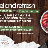 REFUEL AND REFRESH! A SMOOTHIE WORKSHOP WITH THEXPATDIETITAN