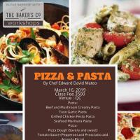 PIZZA AND PASTA WORKSHOP