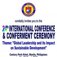 RI'S 24TH INTERNATIONAL CONFERENCE & CONFERMENT CEREMONY