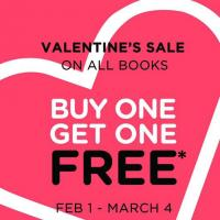 BUY 1 GET 1 BOOKS AT BOOKS FOR LESS FEBRUARY 2019