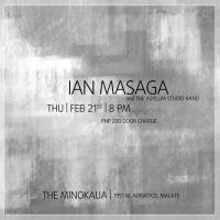 JAZZY THURSDAY WITH IAN MASAGA AND THE ASYLUM STUDIO BAND AT THE MINOKAUA