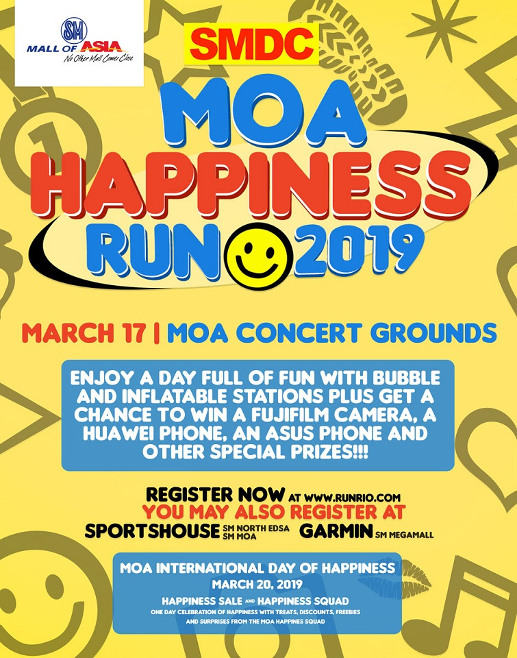 MOA Happiness Run 2019