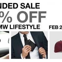 EXTENDED SALE - 25% OFF ON BMW LIFESTYLE STOCKS