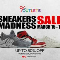 SNEAKERS MADNESS SALE AT THE OUTLETS AT LIPA