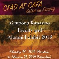 GRUPONG TOMASINO FACULTY AND ALUMNI EXHIBIT 2019