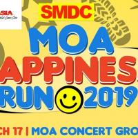 Join The First Ever Happiest Run of the Year – The MOA Happiness Run on March 17