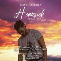 DAVE LAMAR'S HOMESICK EP LAUNCH AT UPPERHOUSE