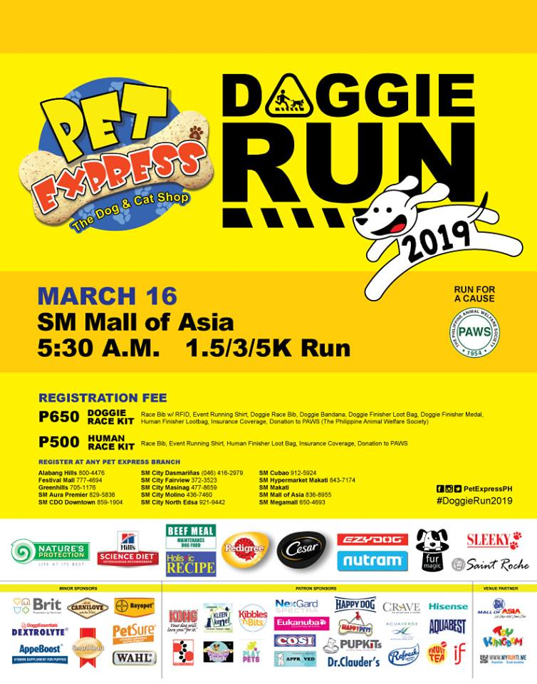 PET EXPRESS DOGGIE RUN 2019