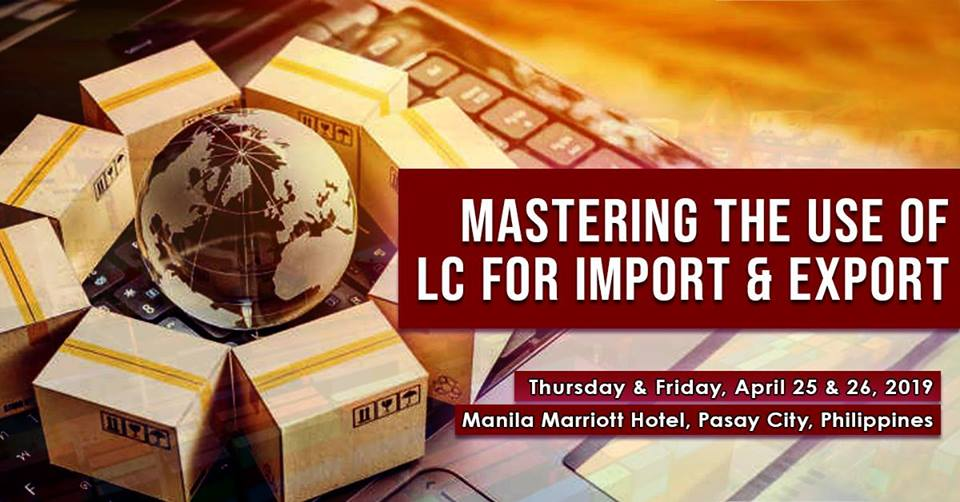 TRADE PROGRAM | MASTERING THE USE OF LC FOR IMPORT & EXPORT