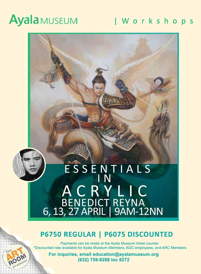 ART ROOM: ESSENTIALS IN ACRYLIC WITH BENEDICT REYNA