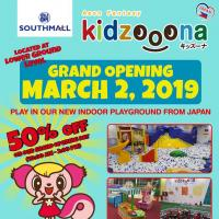 GRAND OPENING OF KIDZOOONA SOUTH MALL ALABANG