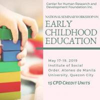 NATIONAL SEMINAR WORKSHOP ON EARLY CHILDHOOD EDUCATION
