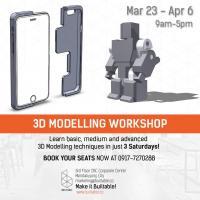3D MODELLING WORKSHOP SESSION 3
