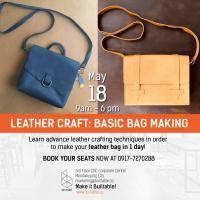 LEATHERCRAFT: BASIC BAG MAKING WORKSHOP